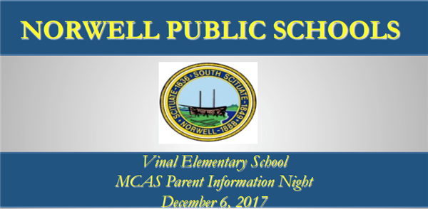 PPT From 4th/5th Grade Parent MCAS Night