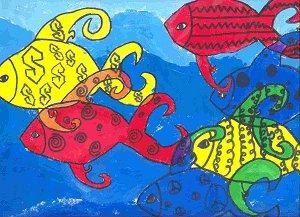 Fish Color Wheel