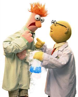The Muppets: Beaker and Bunsen