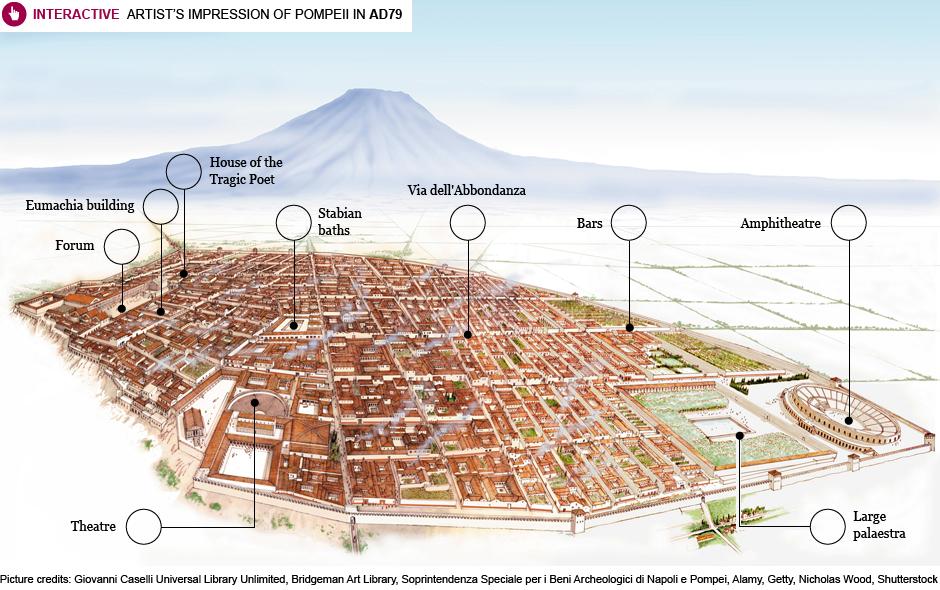 Pompeii Map Google Pompeii 3d Map